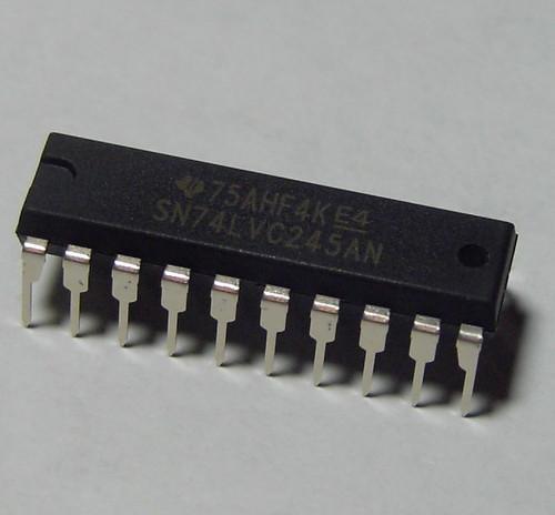 SN74LVC245 - Breadboard Friendly 8-bit Logic Level Shifter
