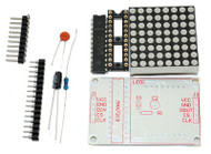 MAX7219 8X8 Red Dot LED Matrix Kit