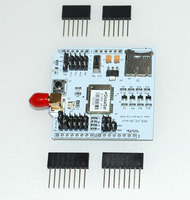 GPS Shield with SD Slot, Configurable UART pins external antenna