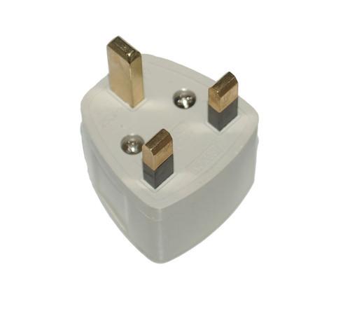 Universal to UK Power Plug Adapter