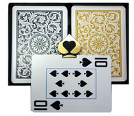 Copag 1546 Black & Gold Super Index Poker