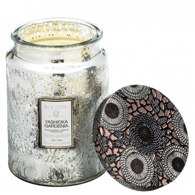 This inspirational candle scent features sublime notes of Tuberose and Yashioka Gardenia, Tuberose and Tunisian Clove.