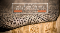 5 Things To Consider Before Buying An Area Rug Pallucci