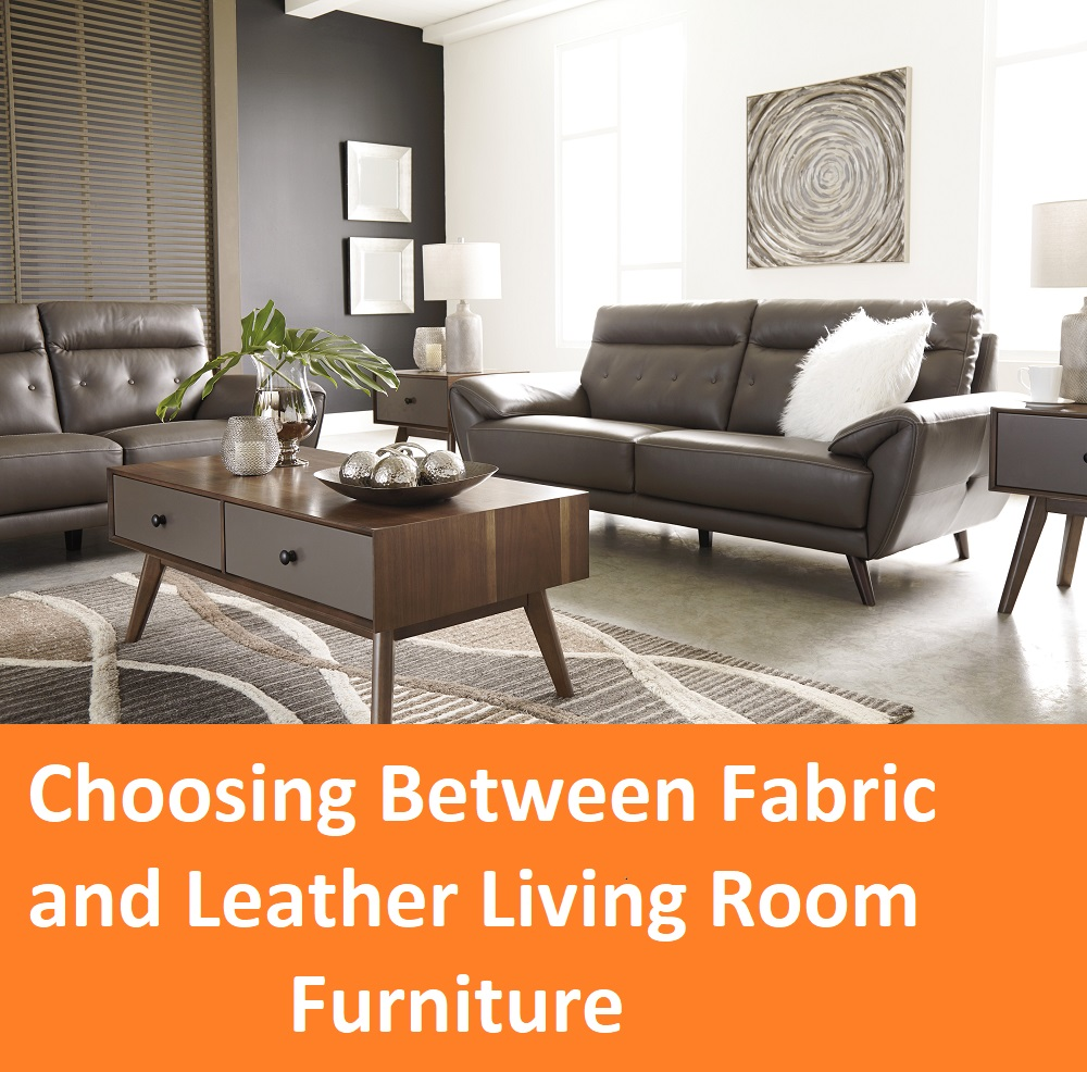 Awesome Choosing Between Fabric And Leather Living Room Furniture Beutiful Home Inspiration Xortanetmahrainfo