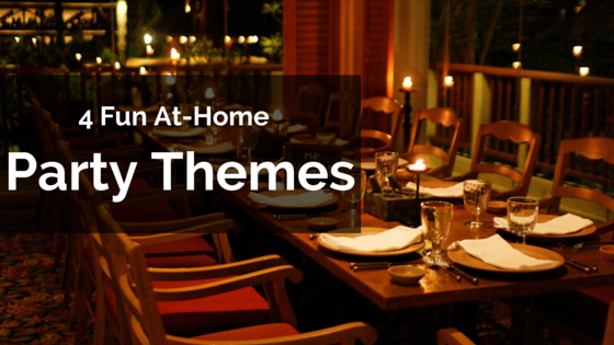Four Fun At-Home Party Themes - Pallucci Furniture