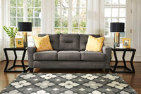 Hugo Queen Sofa Bed Grey