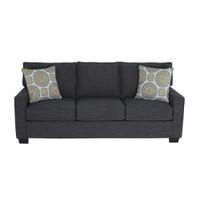Rex Fabric Sofa Charcoal