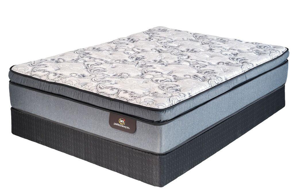 Perfect Sleeper Viscount Double Pillowtop Firm Mattress By Serta ... 2a3fbe8c3150