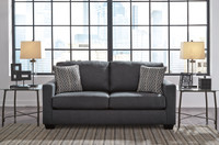 Avery Double Sofa Bed Grey