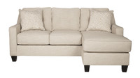 Ivy Fabric Reversible Sectional Sand