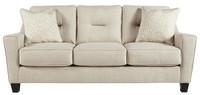 Hugo Queen Sofa Bed Sand
