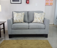 Morton Loveseat Grey