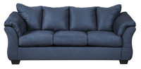 Madison Fabric Sofa Blue
