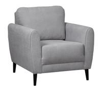 Perri Fabric Chair Grey