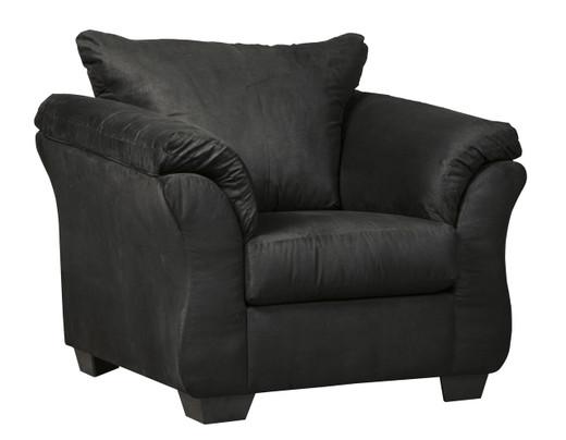 Madison Fabric Chair Black