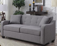 Mason Double Sofa Bed Grey