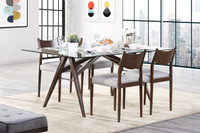 Orlando 5pc Dining Set Beige