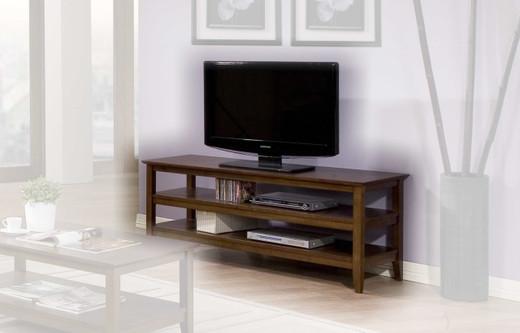 Quadra TV Stand Walnut