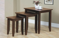 Quadra Nesting Tables Walnut