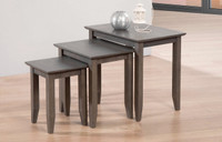 Quadra Nesting Tables Grey