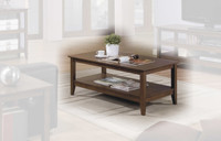 Quadra Coffee Table Walnut