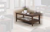 Quadra Coffee Table Walnut