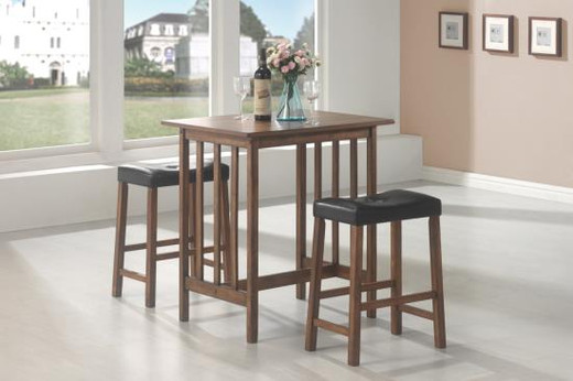 Marco 3pc Counter Height Dining Set