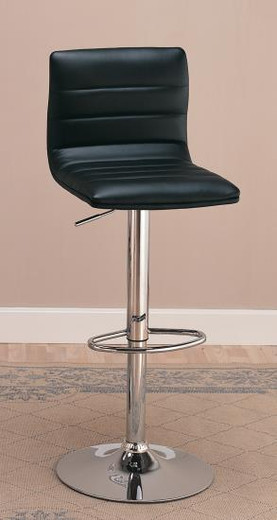 Jasper Swivel Bar Stool Black