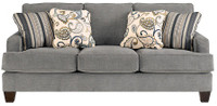 Scala Fabric Sofa Steel