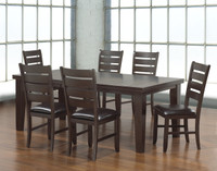 Amelia 7pc Extension Leaf Dining Set