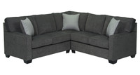 Rex Fabric Corner Sectional Grey