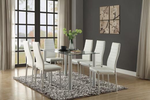 Milan Dining Table White