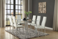 Milan Dining Table White