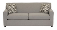 Dyna Fabric Double Sofa Bed Grey