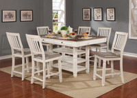 Melva Storage Counter Height Dining Table