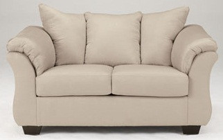 Madison Fabric Loveseat Stone