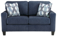Agnes Loveseat Blue