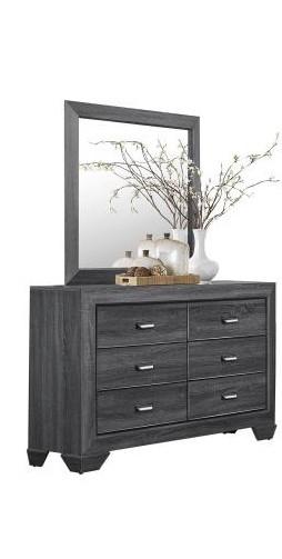 Kai Dresser Mirror Grey