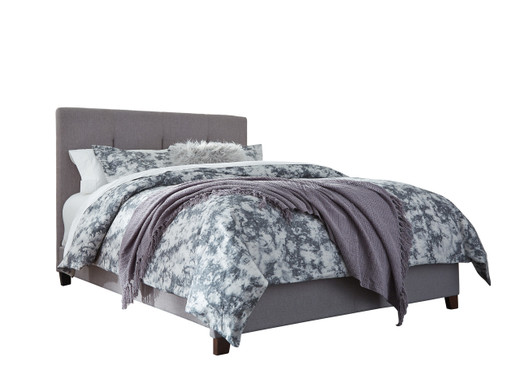 Dolante Queen Bed Frame Grey