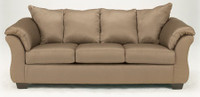 Madison Fabric Sofa Mocha