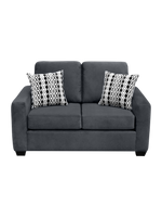 Nordel Loveseat Sofa Bed Pebble