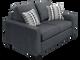Nordel Loveseat Sofa Bed Pebble
