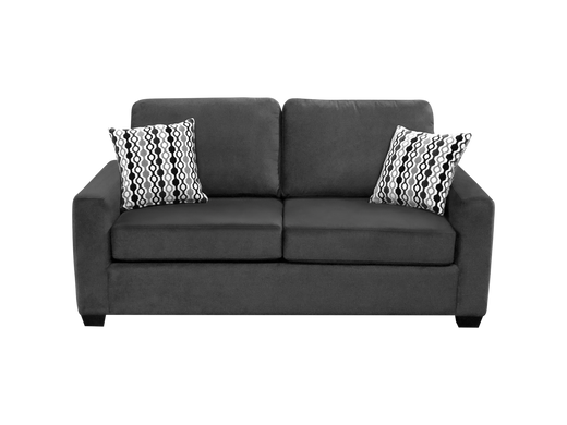 Nordel Fabric Condo Sofa Pebble