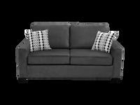 Nordel Fabric Condo Sofa Pebble