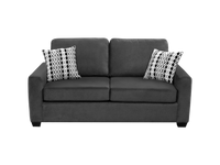 Nordel Fabric Double Condo Sofa Bed Pebble