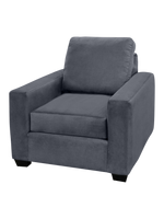 Ledron Fabric Chair Pebble