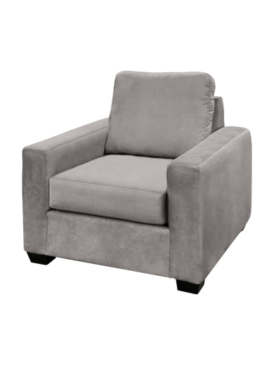 Nordel Fabric Chair Silver