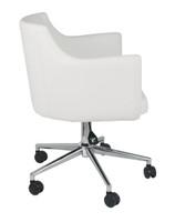 Baraga Swivel Chair White