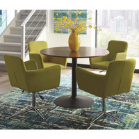 Marney 5 Piece Dining Set Yellow