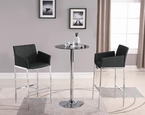 Rhys 3 Piece Counter Height Dining Set